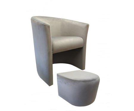 CAMPARI Sessel mit Fußstütze Magic Velvet 39