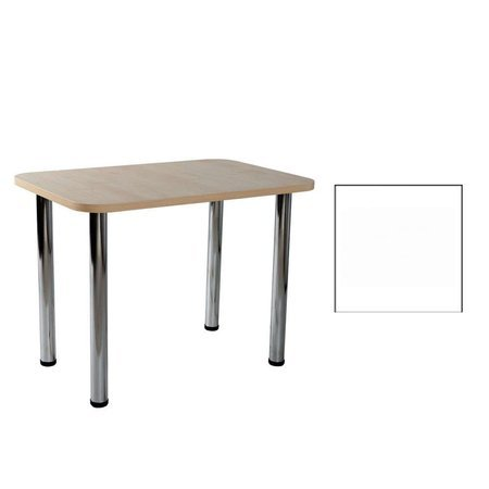 Carlo 04 White 50x80x2,8 Tisch