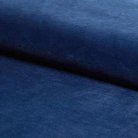 KALIPSO Stuhl dunkelblau Material MG-16 mit goldenen Beinen