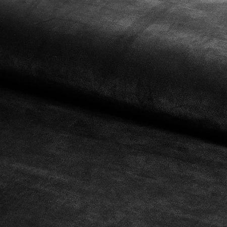 KALIPSO Stuhl schwarz Material MG-19 mit goldenen Beinen