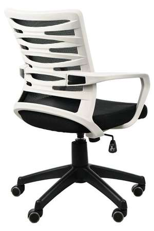 Krzesło Fotel obrotowy Rodos Czarny/Szary