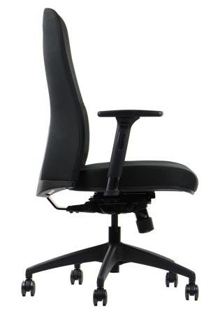 Krzesło Fotel obrotowy Samos - czarny