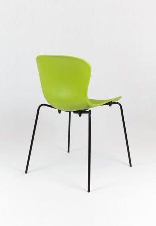 SK Design KR019 Grun Stuhl mit Metallgestell