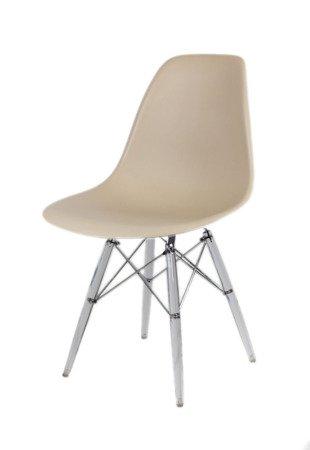 SK Design KR012 Beige Stuhl Clear
