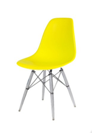 SK Design KR012 Gelb Stuhl, Klar