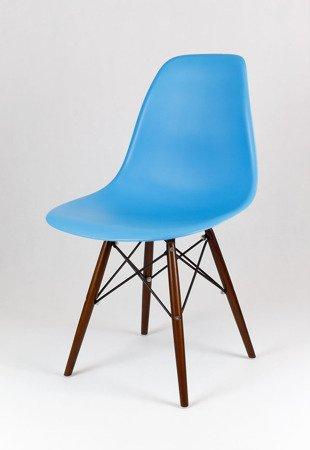 SK Design KR012 Ocean Blau Stuhl, Wenge