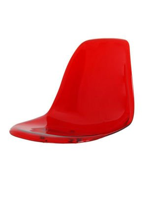 SK Design KR012 Rot Transparent Sitz