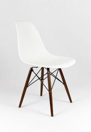 SK Design KR012 Weiss Stuhl Wenge