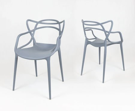SK Design KR013 Dunkelgrau Stuhl