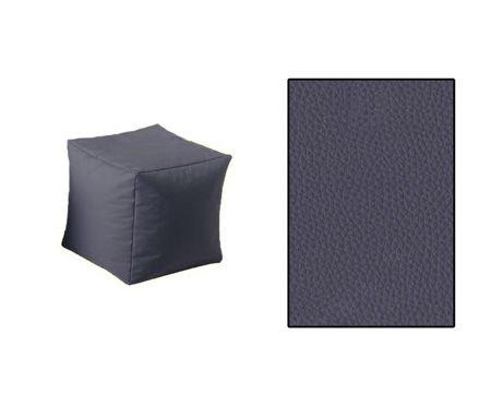 SKN Pouf Cubes Dunkelgrau