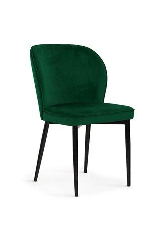 Stuhl AINE grün / schwarz Bein / BL78