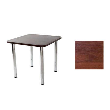 Tisch Paola 02 Nussbaum 80x80