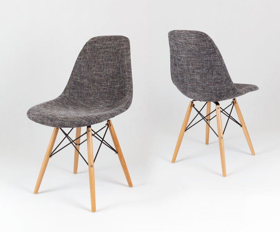 Sk Design Kr012 Tapicerowane Krzesło Lawa17 Nogi Buk Lawa17