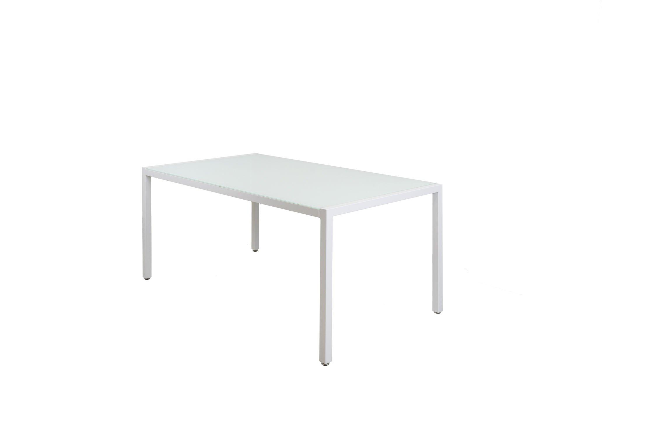 Sk Design St11 Stół Biały Szklany 160 X 90 Cm Biały Oferta Stoły