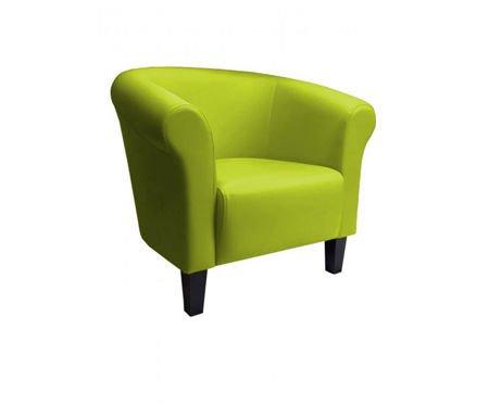 DZIECIĘCY Fotel MALIBU oliwkowy