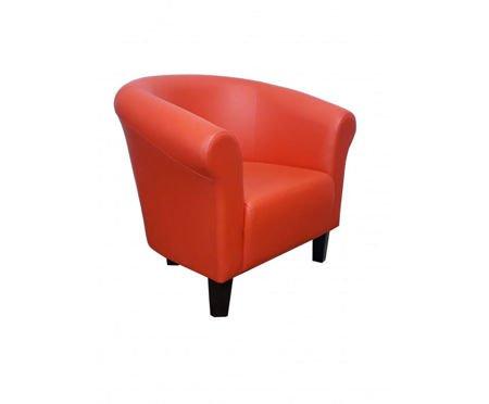 DZIECIĘCY Fotel MALIBU pomarańczowy