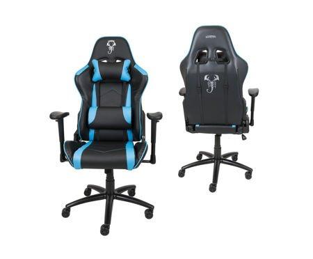 Fotel Gamingowy Scorpion Jasnoniebieski SKG004 JN