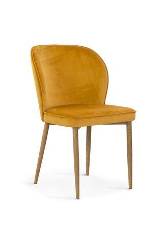 Krzesło AINE miodowy/ noga dębowa/ BL68