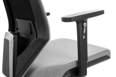 Krzesło Fotel obrotowy - FOGO CZARNY