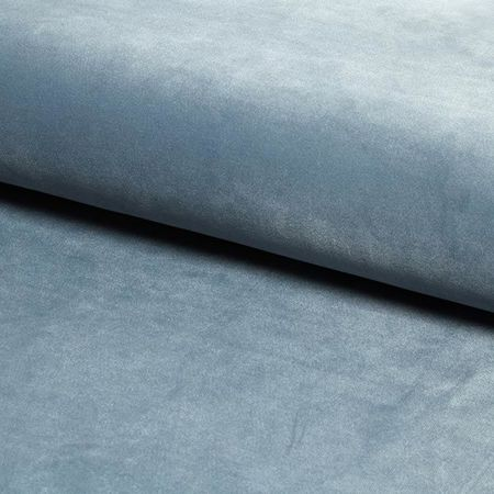 Krzesło KALIPSO niebieskoszare materiał BL-06 ze złotą nóżką