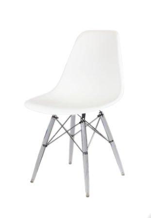 Sk Design Kr012 Białe Krzesło Lodowe