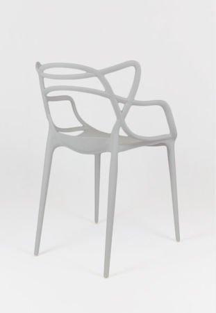 SK Design KR013 Jasnoszare Krzesło