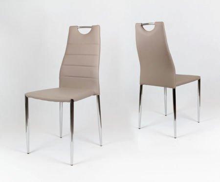 OUTLET SK Design KS005 Beżowe Krzesło