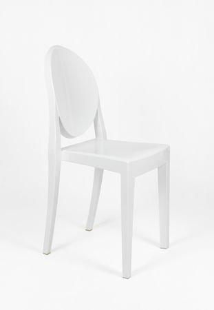 SK Design KR003 Białe Krzesło