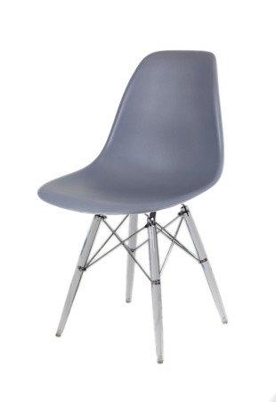 SK Design KR012 Ciemnoszare Krzesło, Nogi lodowe