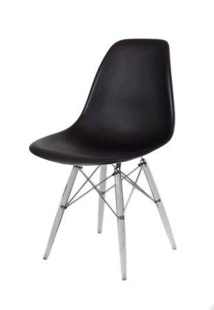SK Design KR012 Czarne Krzesło, Nogi lodowe