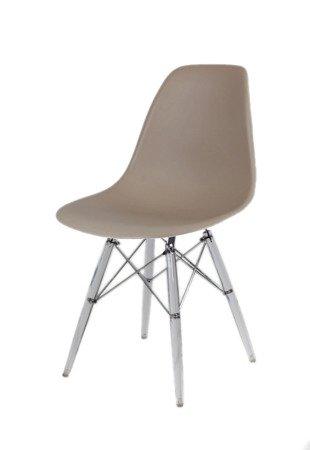 SK Design KR012 Krzesło Kawa z Mlekiem. Lodowe nogi