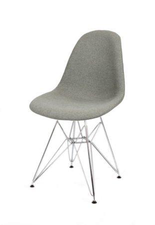 SK Design KR012 Tapicerowane Krzesło Malaga06 Chrom
