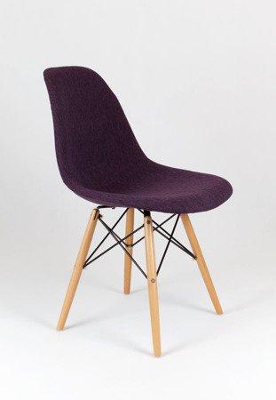 SK Design KR012 Tapicerowane Krzesło Muna17 Buk