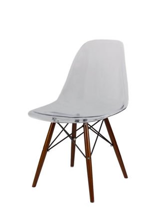 SK Design KR012 Transparentne Krzesło, Nogi wenge