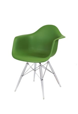 SK Design KR012F Ciemnozielony Fotel Lodowe