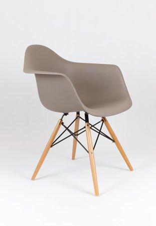 SK Design KR012F Fotel Kawa z Mlekiem Buk