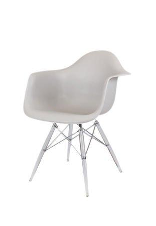 SK Design KR012F Jasnoszary Fotel Lodowe
