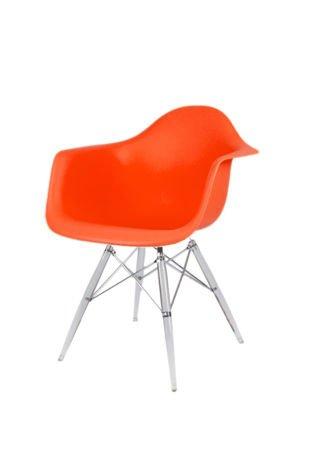 SK Design KR012F Pomarańczowy Fotel Lodowe