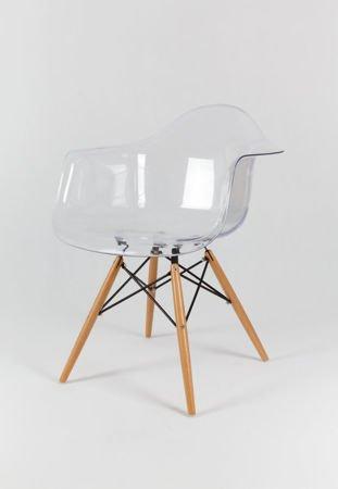 SK Design KR012F Transparentny Fotel Buk