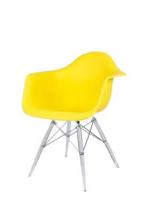SK Design KR012F Żółty Fotel Lodowe