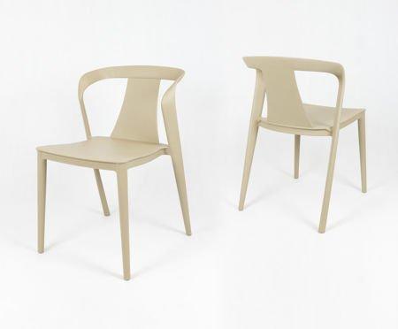 SK Design KR052 Piaskowe Krzesło