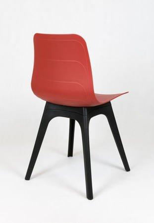 SK Design KR062A Czerwone Krzesło