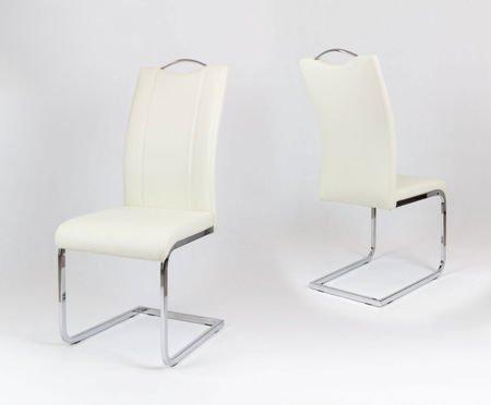 SK Design KS003 Kremowe Krzesło