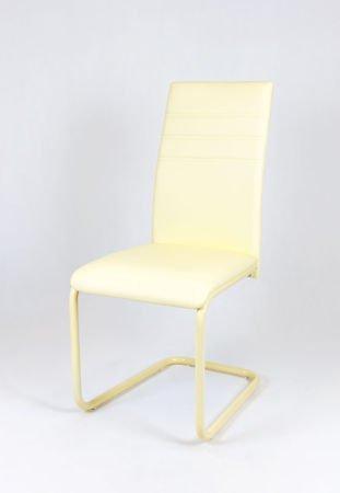 SK Design KS024 Kremowe Krzesło, Kremowy stelaż