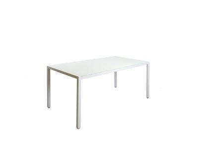 SK Design ST11 Stół Biały-Szklany 160 x 90 cm