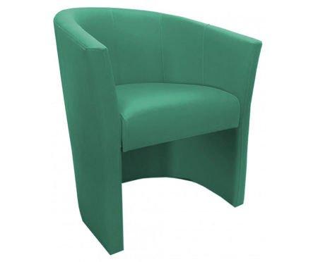 Seledynowy fotel CAMPARI