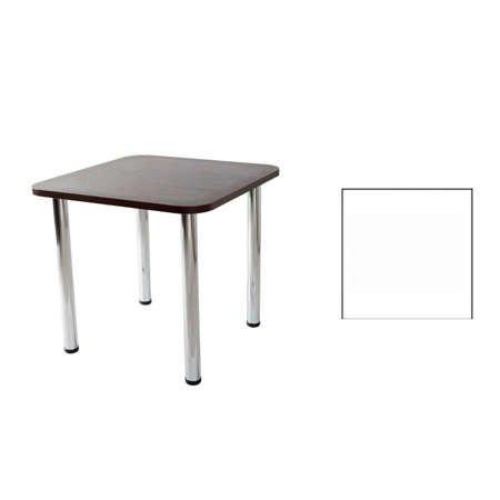 Stół Paola 02 Biały 80x80