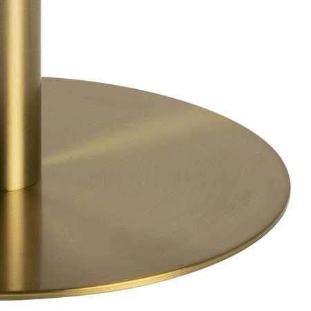 Stolik kawowy Corby 80x80 marmur/ złoty