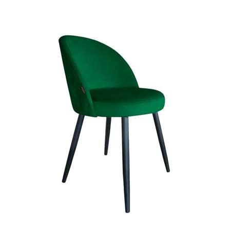 Zielone tapicerowane krzesło CENTAUR materiał MG-25